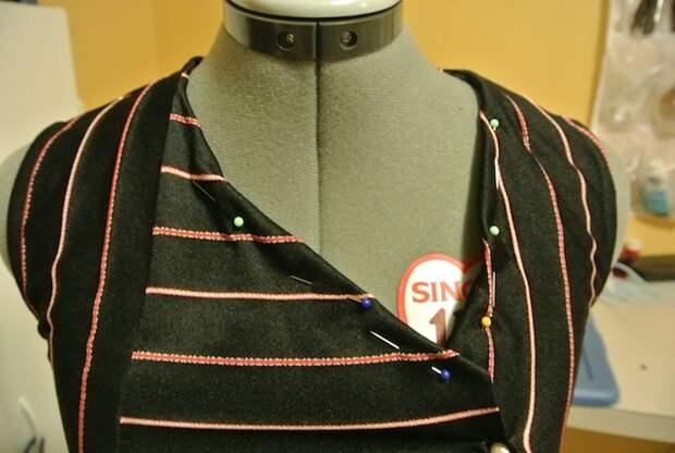 Модница ловко превращает одежду из секонд-хенда в сногсшибательные наряды