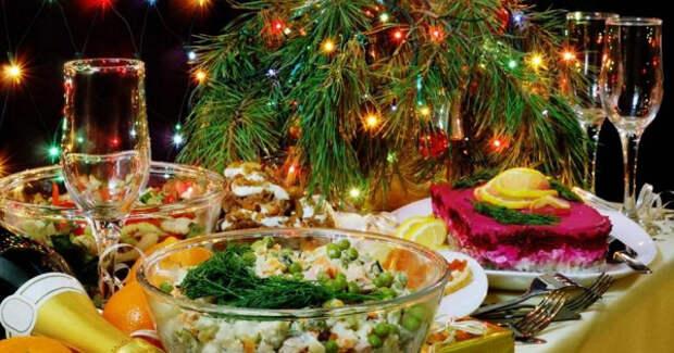 Блюда нановогоднем столе, которые могут нанести вред здоровью