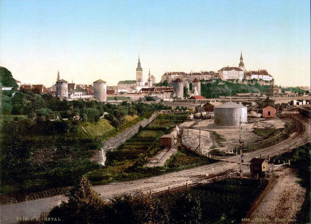 Ревель (Таллин), 1890 г.