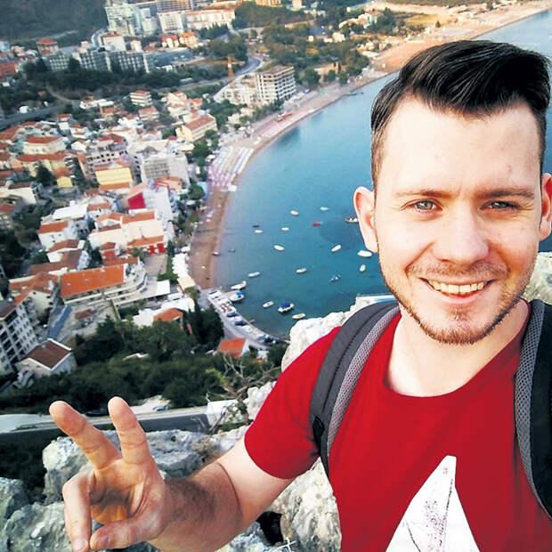 В свободное время Миша путешествует по всему миру