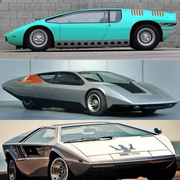 Одни из самых ярких представителей подобного направления. Собственно, Bizzarrini Manta, британский Vauxhall SRV и более поздний Maserati Boomerang. Bizzarrini Manta, Джорджетто Джуджаро, авто, автодизайн, автомобили, аэродинамика, дизайнер