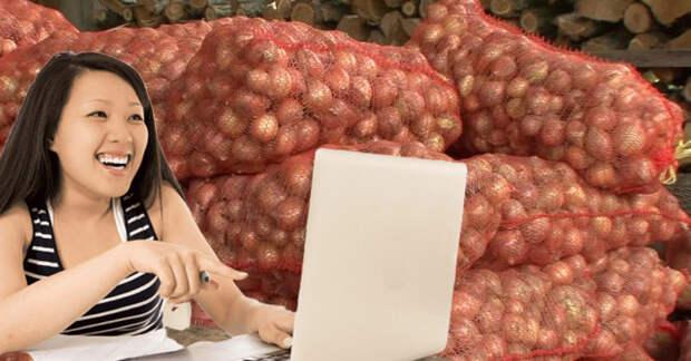 Горькая месть: вКитае девушка заказала парню надом тонну лука
