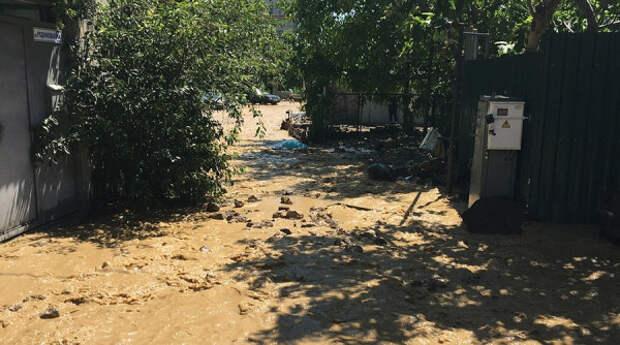 Всекрымский потоп ударил и по Кореизу