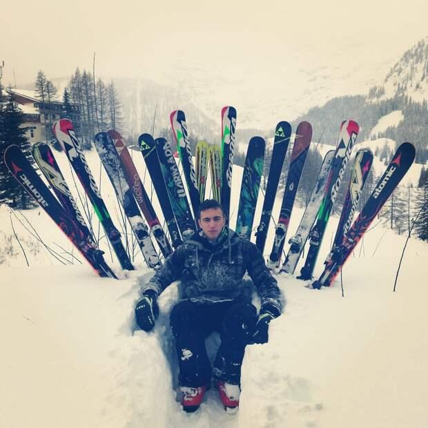 Забавные зимние фотографии