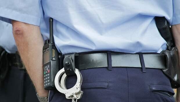 В Подольске задержали подозреваемого в краже бензина и имущества из машины