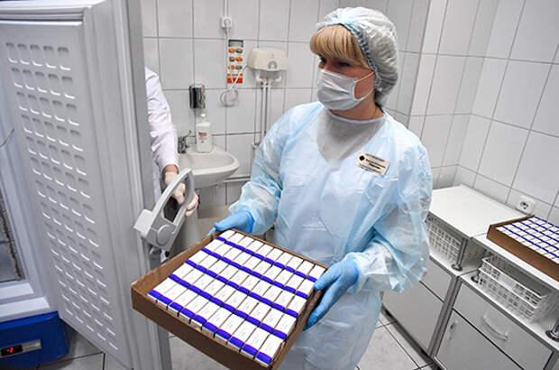Крым получил ещё 4,3 тысячи доз вакцины от коронавируса