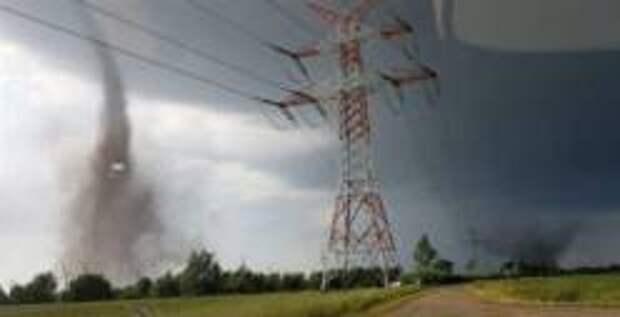 Пять человек пострадали из-за торнадо в Германии
