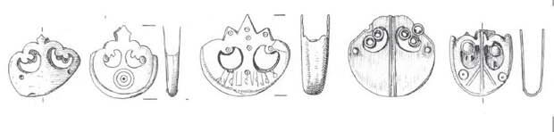 Бронзовые окончания ножен из Торсберга - Экипировка античных воинов: германцы | Warspot.ru