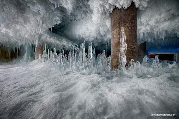 Ледяные ландшафты хладокомбината