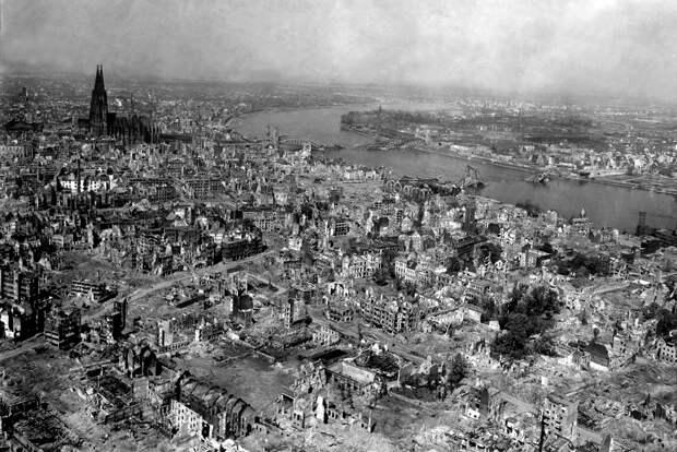 Кто и как бомбил Европу