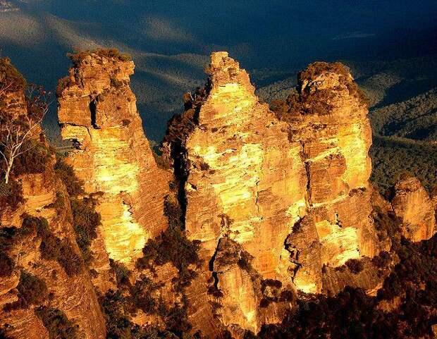 мистические горы в австралии