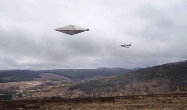 Дело об НЛО в Великобритании будет храниться в секрете до 2072 года