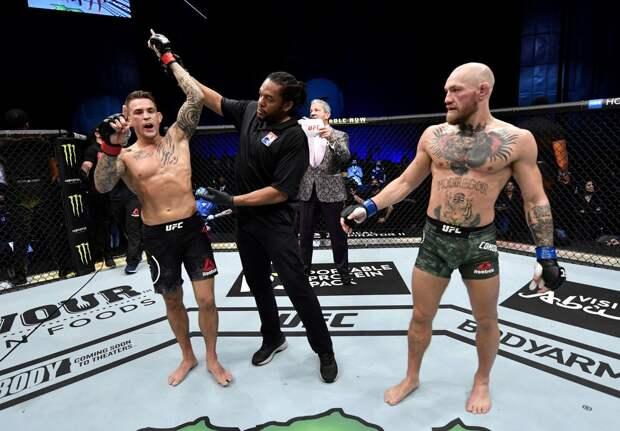 Порье намекнул на третий бой с Макгрегором в UFC