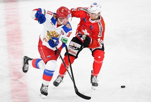 Сборная России проиграла Швейцарии и во 2-м матче Еврочелленджа