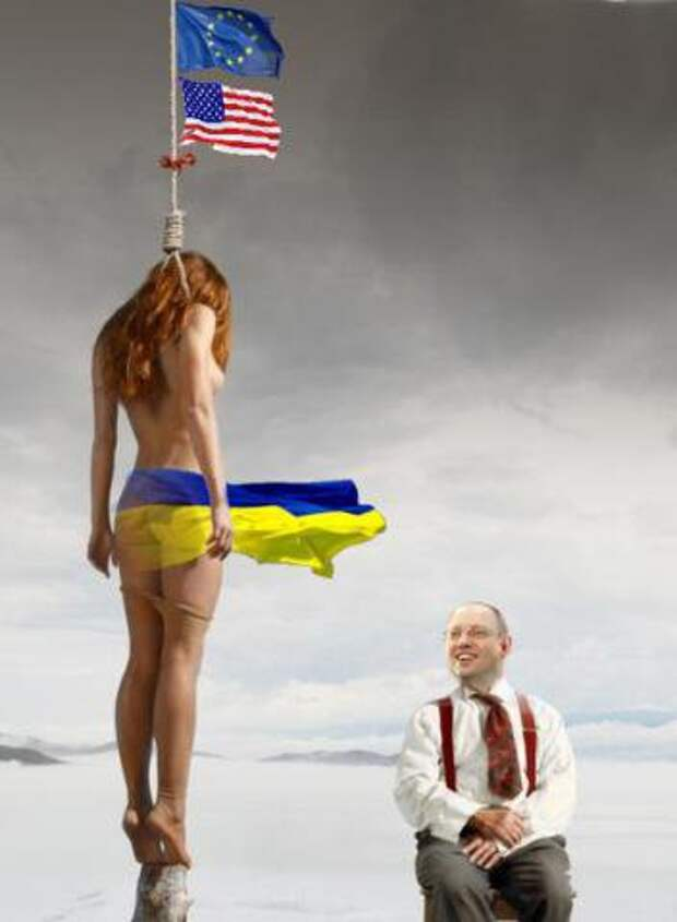 Физическая гибель большинства народа Украины становится реальностью