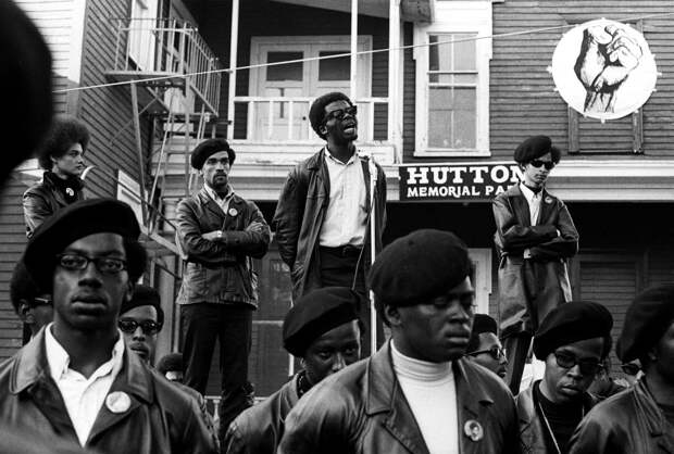 Социальные конфронтации в США 1960-х - 1970-х годов: Леворадикальная Партия черных пантер   (12)