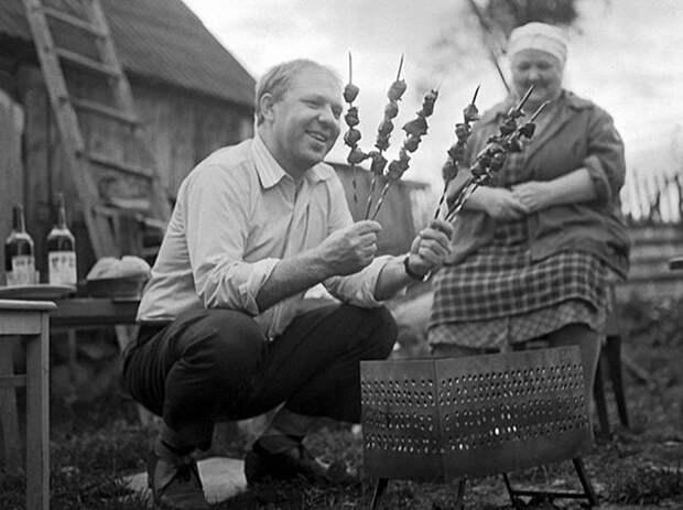 Фотографии из жизни советских знаменитостей (20 фото)