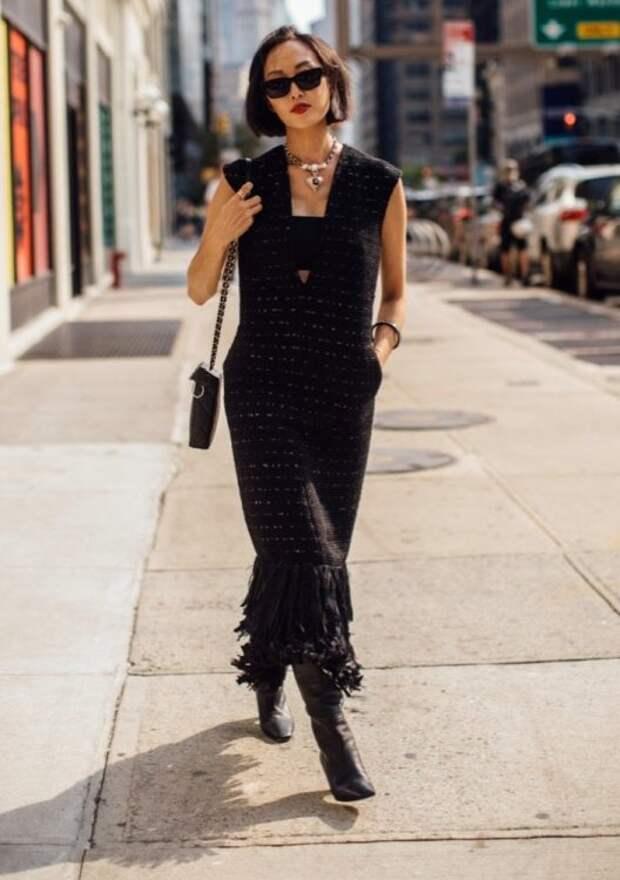 Неделя моды в Нью-Йорке весна 2022 года: самые яркие образы уличного стиля