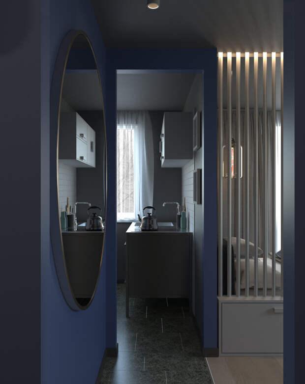 Каким может быть дизайн самой маленькой и неудобной квартиры