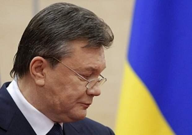 Янукович подаст в суд на Раду из-за обвинений в потере Крыма