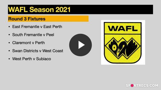 WAFL Show Round 3 Preview