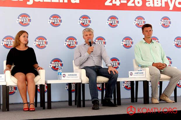 Пресс-конференция министра спорта России Павла Колобкова