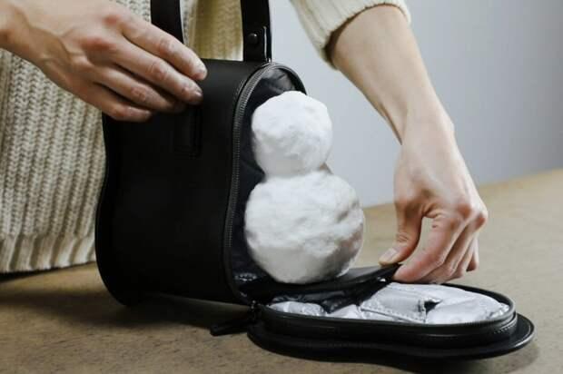 Сумка для снеговика