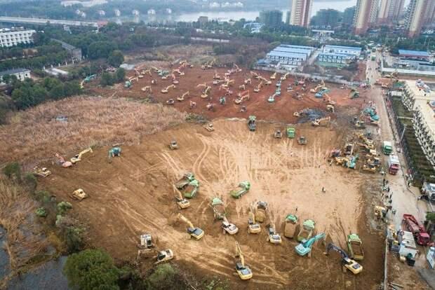 В Ухане построят больницу на 1000 мест за 10 дней