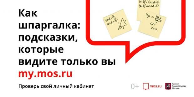 Оформить льготы для многодетных семей на Mos.ru. Фото: mos.ru