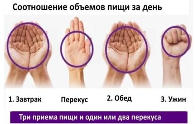 Если вы не можете похудеть, помогите себе кулаком