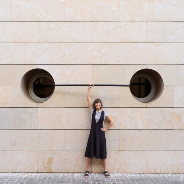 Архитектурные фантазии вфотоработах Анны Девис иДаниэля Руэды
