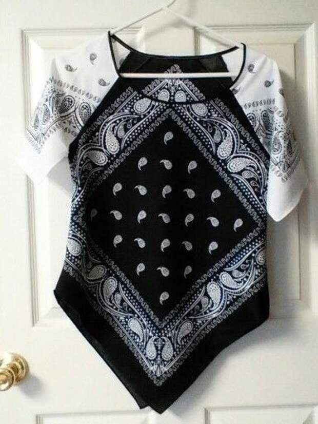 Одежда из бандан (подборка)
