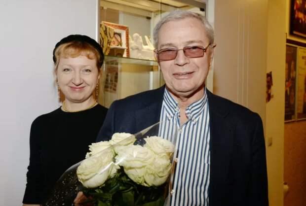 Л. Прыгунов с женой Ольгой