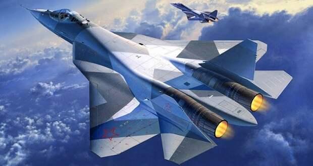 МинобороныРФ заключило контракт напоставку первых 12 истребителей Су-57