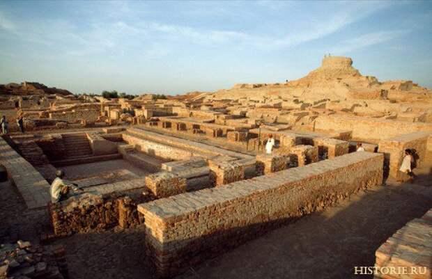 Загадка гибели протоиндийской цивилизации
