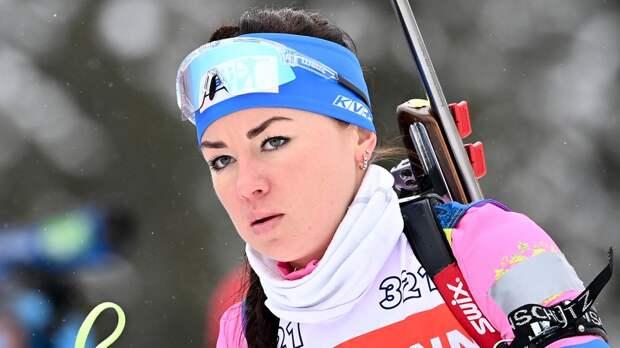Биатлонистка Куклина рассказала, что к ней в 7 утра пришел допинг-контроль на ЧМ