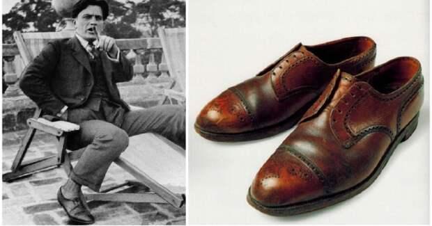 Туфли Маяковского, сапоги вождя народов: обувь, которую носили знаменитости