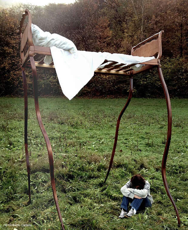 Инопланетная мебель Умберто Даттолы