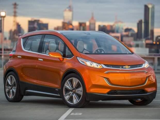 Chevrolet Bolt станет серийным в 2017 году