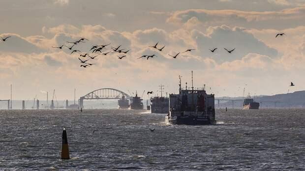 Власти Украины выразили протест из-за решения России закрыть часть акватории Черного моря