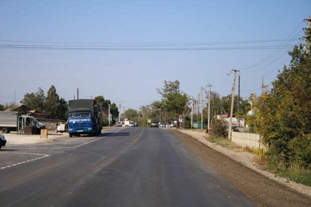 Дорога Граница с Украиной-Джанкой-Феодосия-Керчь готова наполовину