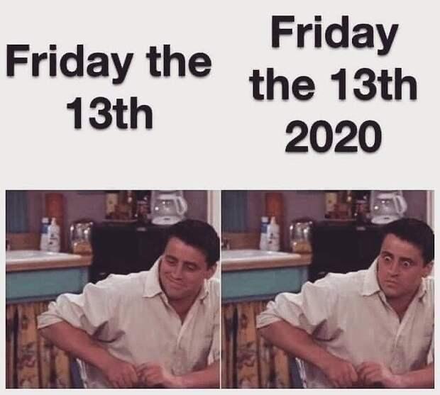 Приколы про пятницу 13-е