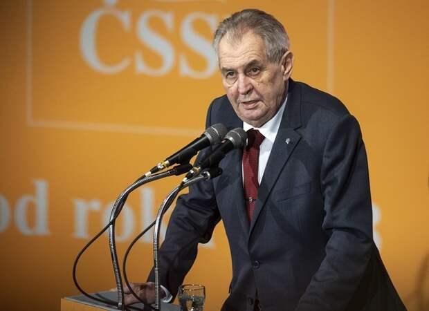 Президент Чехии прокомментировал недопуск российского дипломата в страну