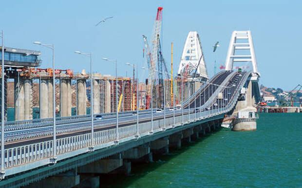 Крымский мост - первые рекорды и происки недоброжелателей