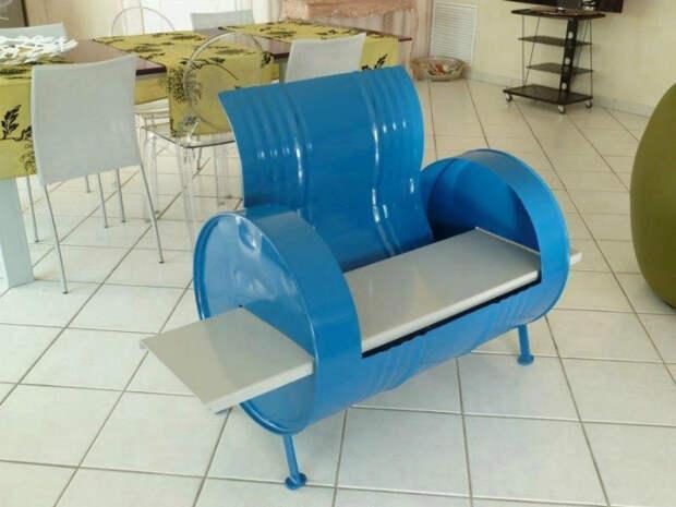 18 примеров современной мебели и предметов декора из бочек