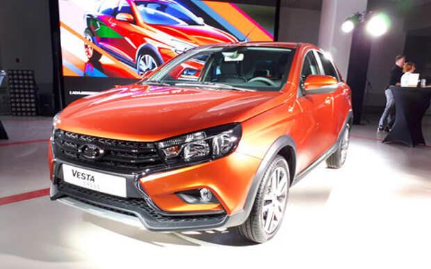АВТОВАЗ показал новую модель Lada. И это снова Cross