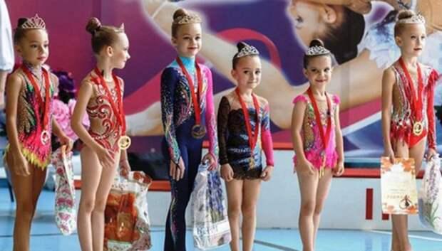 Подольские спортсменки стали победителями турнира по художественной гимнастике