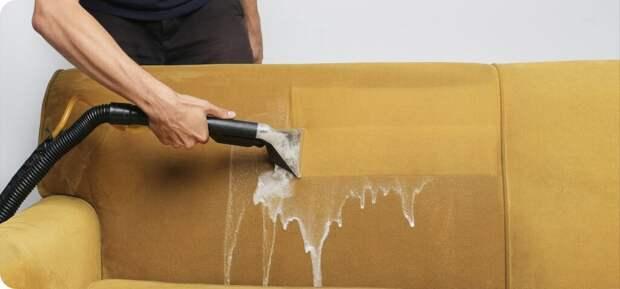 Для чего нужна химчистка мягкой мебели