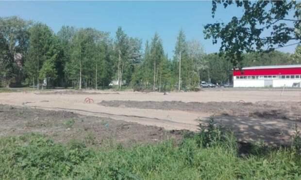 В Северном округе Архангельска построят сквер на заброшенной территории