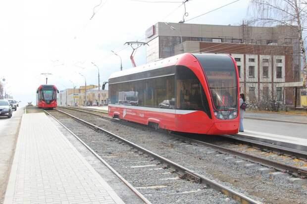 Трамвайную остановку «Центральный универмаг» в Ижевске обустроили на прежнем месте